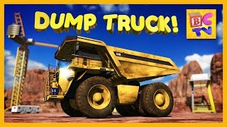 getlinkyoutube.com-Learn About Dump Trucks for Children | Educational Video for Kids by Brain Candy TV