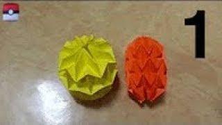 getlinkyoutube.com-294  Origami 종이접기 (매직 공) 2-1 Mini Magic Ball  색종이접기  折纸 оригами  摺紙  折り紙 اوريغامي