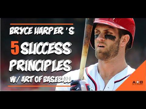 Bryce Harper Baseball Tips: 5 Baseball Success Principles With Bryce Harper