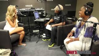 Denise Richards Speaks on Dating Black Men on #SwayInTheMorning