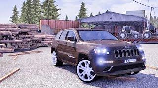 getlinkyoutube.com-Jeep SRT | Sport driving ETS2 (Euro Truck Simulator 2)