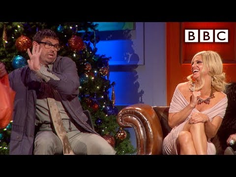Angelos isn't Pleased to See Sarah Harding - The Rob Brydon Show - Christmas Special 2011 - BBC Two