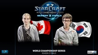 getlinkyoutube.com-Scarlett vs. Bomber - Quarter Finals - WCS Season 2 Finals