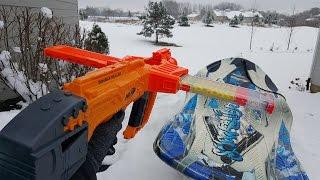 getlinkyoutube.com-First Person Winter Nerf War: Duel