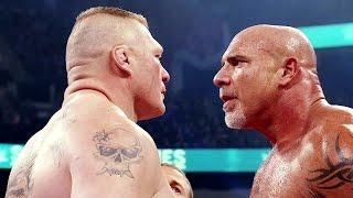 Road to WrestleMania 33: Goldberg vs. Brock Lesnar width=