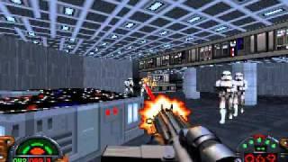 getlinkyoutube.com-Dark Forces - Mission 1 Speedrun - Hard difficulty