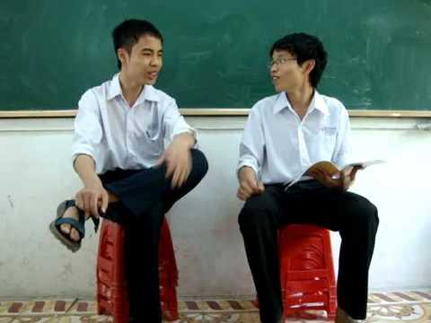 Clip 'hỏi xoáy đáp xoay' của hai bạn học sinh | hay88.com