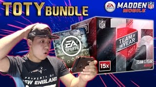 Madden Mobile 17 TEAM OF THE YEAR BUNDLE!! SWEET PULLS!! Plus Thoughts on TOTY