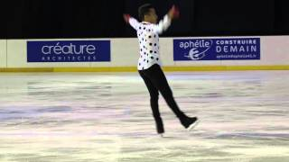 getlinkyoutube.com-Master's Orléans 2015 : Florent Amodio programme court ( short program )