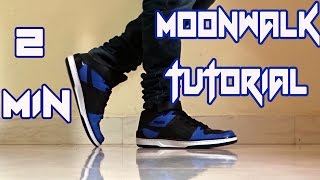 How to do the Moonwalk? | Learn in 2 mins|