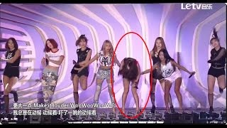 getlinkyoutube.com-[150920] SISTAR - Shake It (Soyou falls on stage)