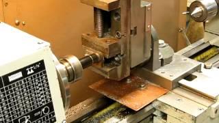 getlinkyoutube.com-Milling steel on a small metal lathe
