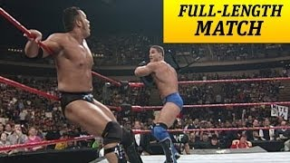 FULL-LENGTH MATCH - Raw - Ken Shamrock vs. The Rock - Intercontinental Title Match