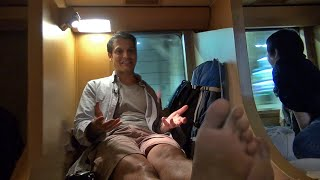 getlinkyoutube.com-Japan's Night Train: The Sleeper Car Adventure 寝台列車サンライズ出雲 ★ ONLY in JAPAN #32