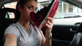 getlinkyoutube.com-Mall Vlog | Picking up the Jordan Banned 1's