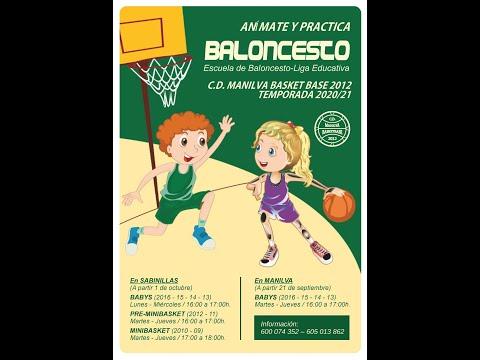 Inicio de la actividad en la Escuela de Baloncesto