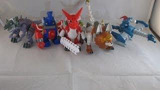 getlinkyoutube.com-Digi Fusion Figures Series 1 Review (Digimon Fusion)