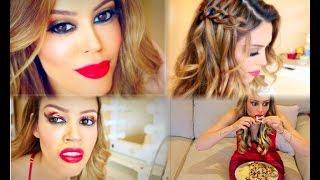 getlinkyoutube.com-Make & cabelo pro Natal   Expectativa x Realidade #igualqnem CamilaCoelho