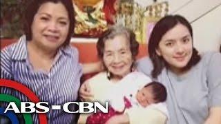 getlinkyoutube.com-Ara Mina shares her newborn baby