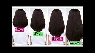 getlinkyoutube.com-How To Get Long & Thick Hair, Stop Hair Fall & Get Faster Hair Growth In  7 days