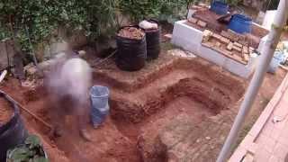 getlinkyoutube.com-Pond construction (3.000 lt)
