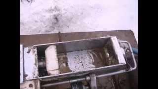 getlinkyoutube.com-Новинка!!! Топливные брикеты своими руками, с нулевыми затратами !!! Подарок от кроликов!!!