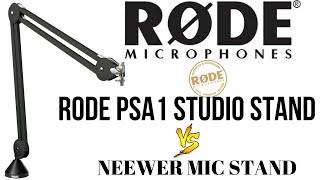 RODE PSA1 STUDIO ARM MICROPHONE STAND AS CAMERA STAND