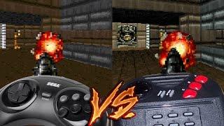 getlinkyoutube.com-Sega 32X Vs Atari Jaguar - Doom