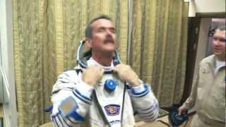Entrainement en Russie de l'astronaute canadien Chris Hadfield