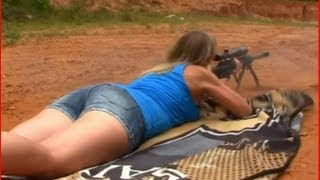 getlinkyoutube.com-50 CAL BMG+GIRL+EXPLOSIVES+SLOW MO=AWESOMENESS!!!