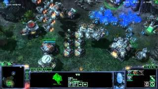 스타크래프트 매스 리콜 에피소드5 - 철권 미션6 - 황제의 도주