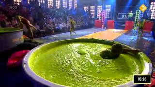 getlinkyoutube.com-Dads Slimed in Singlets - Tj Haring Sweers Belt