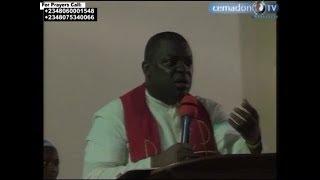 Rev Fr Mario David Dibie- My Lazarus come out- CEMADONTV