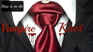getlinkyoutube.com-The Vampire Knot! How to tie a tie