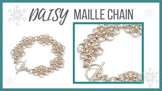 getlinkyoutube.com-Daisy Maille Chain - Beaducation.com