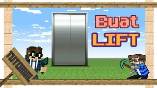 getlinkyoutube.com-Minecraft - Cara Membuat Lift