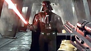 getlinkyoutube.com-Star Wars Battlefront 3 Gameplay Fighter Squadron Mode / Darth Vader