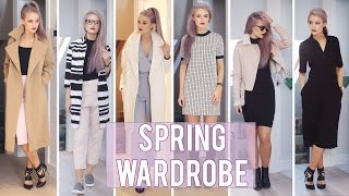 getlinkyoutube.com-Spring Outfit Haul | Inthefrow