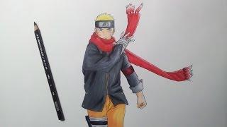 getlinkyoutube.com-Drawing Naruto - The Last: Naruto the Movie