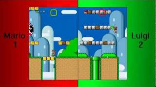 getlinkyoutube.com-Super Mario Bros X. (Battle Level) Yoshi's Island Melee