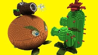 getlinkyoutube.com-Minecraft vs Plants vs Zombies | GIGA CITRON | PEA SHOOTER | COCONUT CANNON | CACTUS