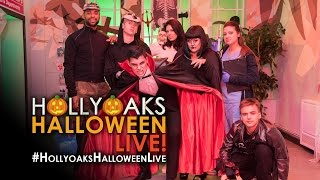 getlinkyoutube.com-Hollyoaks Halloween: Live Replay
