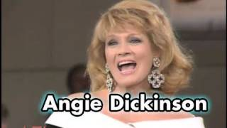 Angie Dickinson On Being In Bed With Kirk Douglas
