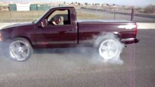 Chevy 454 ss Burnout By Anthony L