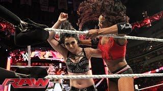 Paige vs. Alicia Fox: Raw, June 29, 2015