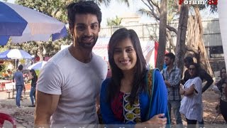 getlinkyoutube.com-Kahaani Hamari | Fun With The Cast | Karan Wahi Being His Goofy Self | He is Wahi not Ghai!