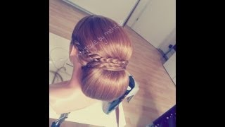 getlinkyoutube.com-wedding hairstyle tutorial ..wie mache ich hochsteckfrisur ? hairstyle by mehtap