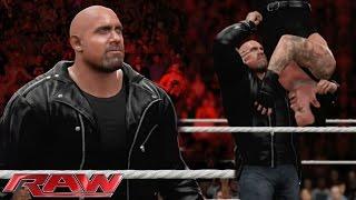 getlinkyoutube.com-WWE 2K16 - Goldberg returns to WWE & Jackhammers Undertaker!