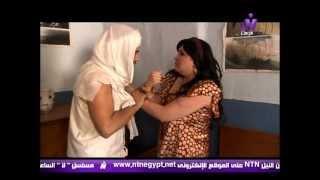 getlinkyoutube.com-محاولة اغتصاب صفية (بثينة رشوان) من الشقى نفادى (ف