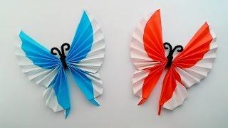 Origami butterfly ...พับผีเสื้อแสนสวย